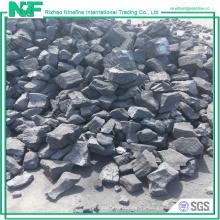 Coque de fundición de bajo contenido de azufre y alto contenido en carbono para coladas de chatarra de cobre y metal de Iorn