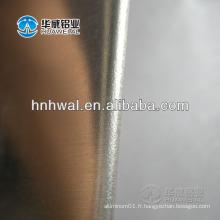Bande d'aluminium à bord arrondi sans bavures