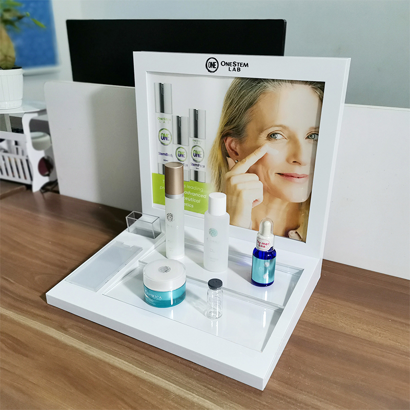 Desktop Cosmetics Display