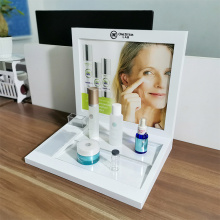 Desktop Acrylic Cosmetics Display Stand Acrylic Display Rack