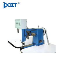 DT 82D informatizado máquina de costura de superfície dupla agulha para sapatos