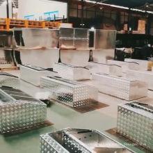 Оптовые двойные железные проволоки алюминиевые ящики для инструментов для багажника автомобиля Оптовые двойные железные проволоки алюминиевые ящики для инструментов для автомобиля багажник