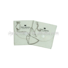 New design envelope style velvet pouches with low price