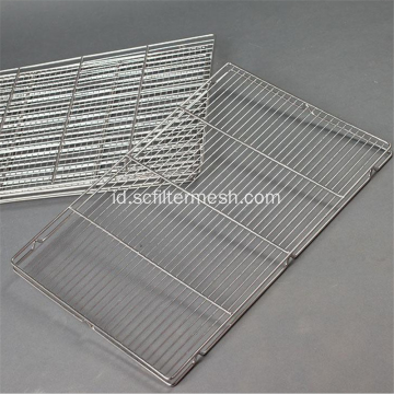 Piknik Stainless Steel Barbekyu BBQ Grill Wire Mesh