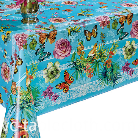 Pvc Printed fitted table covers