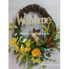 2014 большие пасхальные яйца пасхальные украшения цветок украшения этапа