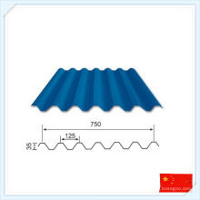 Chine Tôle d'acier préfabriquée de haute qualité pour le toit ou le mur