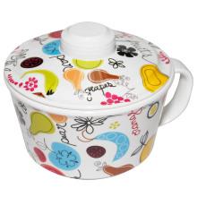 100% меламин посуда - лапши чаша с крышкой (GD635S) /100% меламина посуда