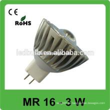 Aluminium MR 16 3w führte Punktlicht bestes verkaufenprodukt