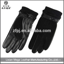 China wholesale Men suede motorcycle Leather Glove