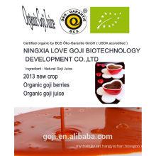 Eu-certificate Organic goji Juice