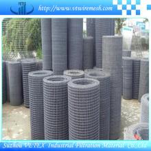 Treillis métallique carré utilisé comme clôture ou filtre