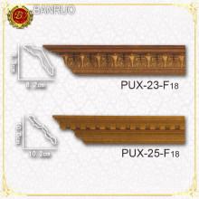 Moulage de corniches en polyuréthane décoratif (PUX23-F18, PUX25-F18)