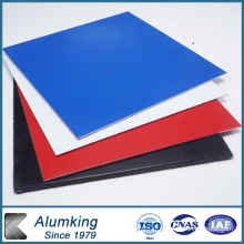 Feuille d'aluminium recouvert de couleur 1100 pour panneaux composites en aluminium