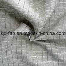 Tejido mezclado de algodón de seda de cáñamo (QF13-0165)