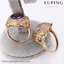12487 - anel chapeado ouro elegante da forma da jóia de Xuping para o homem