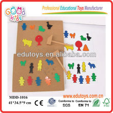 Top New Wooden Puzzle Game Box Jouets éducatifs