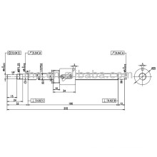 ball screw BSHR1004-NFC7-232-P0-0.05