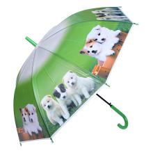 Niño creativo lindo de la impresión animal / niños / paraguas del niño (SK-10)
