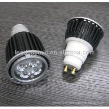 LED-Hochleistungsscheinwerfer GU10 4W führte Schmucksache-Anzeigenbeleuchtung