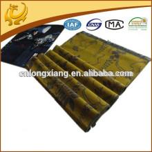 2015 Nouvelle usine de mode chinoise Cheap Price Jacqaurd Pattern Scarf Viscose With Tassel