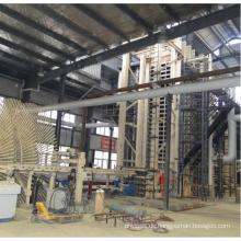 MDF Holzböden Produktionslinie