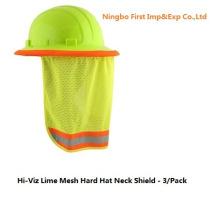 Привет viz Лайм сетки шлем щит шеи (DFV1999)