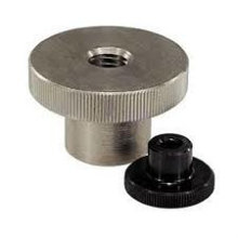 Stainless Steel Knurled Thumb Nuts with Collar DIN466