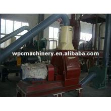 machine for wood flour