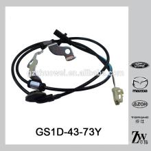 Подлинная ATV датчик скорости колеса Датчик ABS GS1D-43-73Y для MAZDA 6 GH