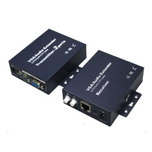 200m VGA Extender Over Single 5cat5e com áudio