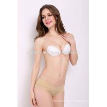 2016 extra push up bra and panty set new design bra and panty set hot selling asia size ribbon bra