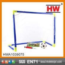 Тренировочный комплект футбольной цели с футбольной и насосной портативной футбольной целью