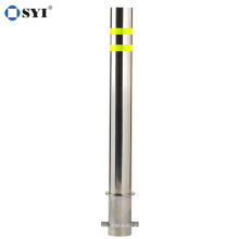 Stainless steel Street bollards traffic safety isolation road pile manufacturer