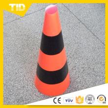 Manga de PVC de plástico cono de tráfico de advertencia
