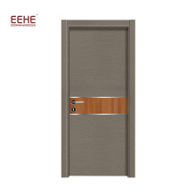 Fashion hot sale pvc wood doors MDF wood doors
