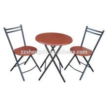 MDF mesa de mesa dobrável mesa de jantar mobiliário