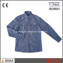 100% нейлон с длинным рукавом нескольких карманах рубашки работника