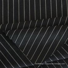 fashion 85 nylon 15 spandex 4 way stretch knitted stripe fabric for T shirt