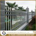 Powder Coated Galvanized Iron Spearhead Ornamental Decorative Palisade Fencing