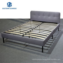 Factory Wholesale Modern Furniture Small Volume Cheap Fabric PU Bed