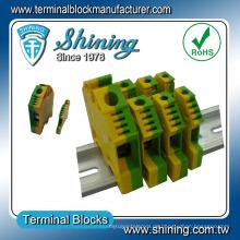 TF-G4 Kunststoff Elektrische Masse Schraube Klemmenblock Steckverbinder