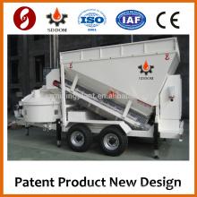 High Flexible MB1800 Mobile Concrete Mixing Plant Concrete Batching Plant