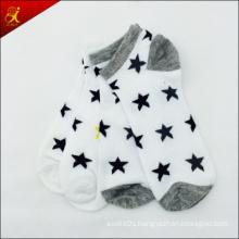 White Star Socks for Adult Men Wear Ankle