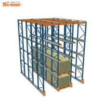 almacén autoejecutable estante sistemas de almacenamiento logístico