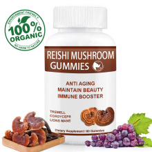 Reishi Mushroom Gummies for Stress Relief Restful Sleep Energy Boost