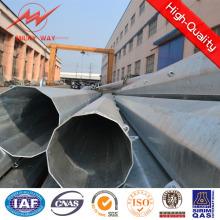 110kv South America Polygonal 25m 18kn Steel Pole