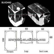 K9 De cristal en blanco para el grabado del Laser 3D