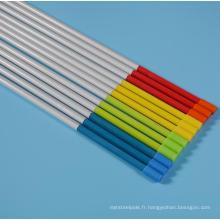 Piquets à neige en fibre de verre de couleur haute résistance