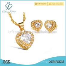 18 jóias de corrente de ouro, colar de corrente de cobre pingente